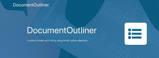 Document Outliner